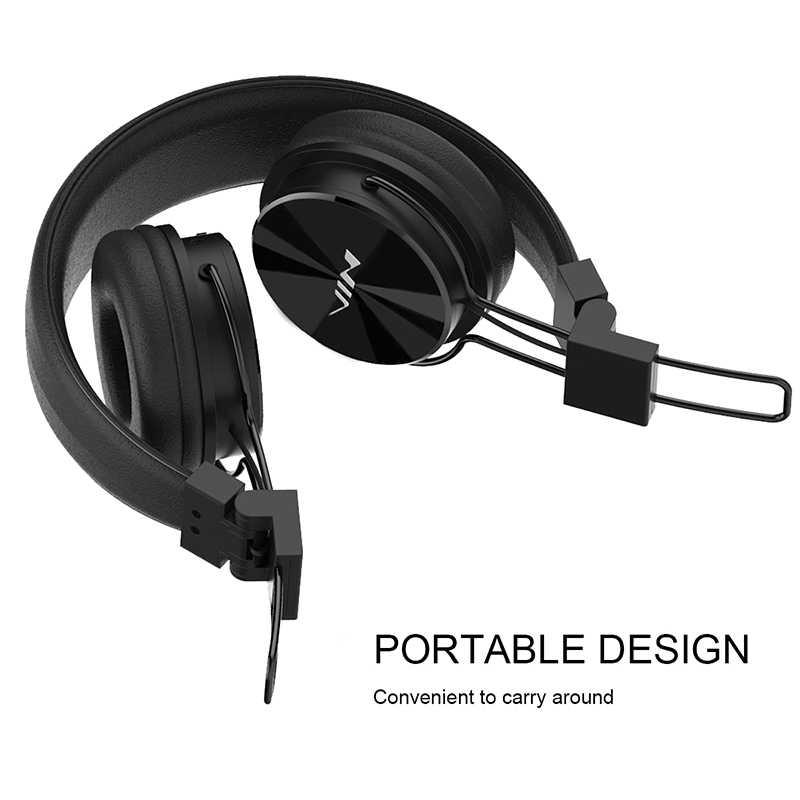 539af8e5ec8 ... Original NIA X3 Headset Wireless Stereo Bluetooth Headphones fone de  ouvido bluetooth with Mic Support TF ...