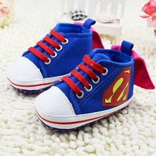 Batman Shoes Baby Toddler Superman First Walkers