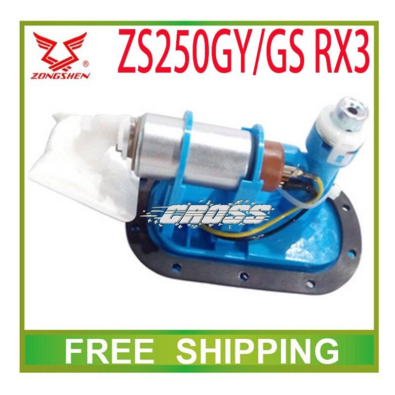 Bomba de injeção de combustível de 250cc zongshen ZS250GS ZS250GY RX3 MOTOCICLETA acessórios frete grátis
