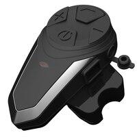 Bluetooth Lightweight Intercom FM Radio Portable Noise Cancellation Motorcycle Helmet Headset Easy Operation Music Earphone