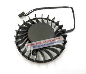 Image 5 - New Original AVC BAZA0714B2U DC12V 0.6A 64x16MM 4Lines Graphics card cooling fan