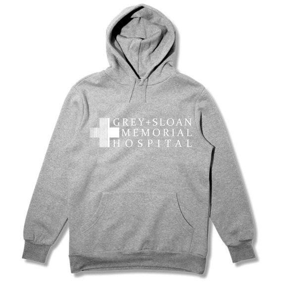 Tumblr Jumper Hoodie Long-Sleeve Greys-Anatomy Sugarbaby Casual Fashion Sloan Tops Memorial