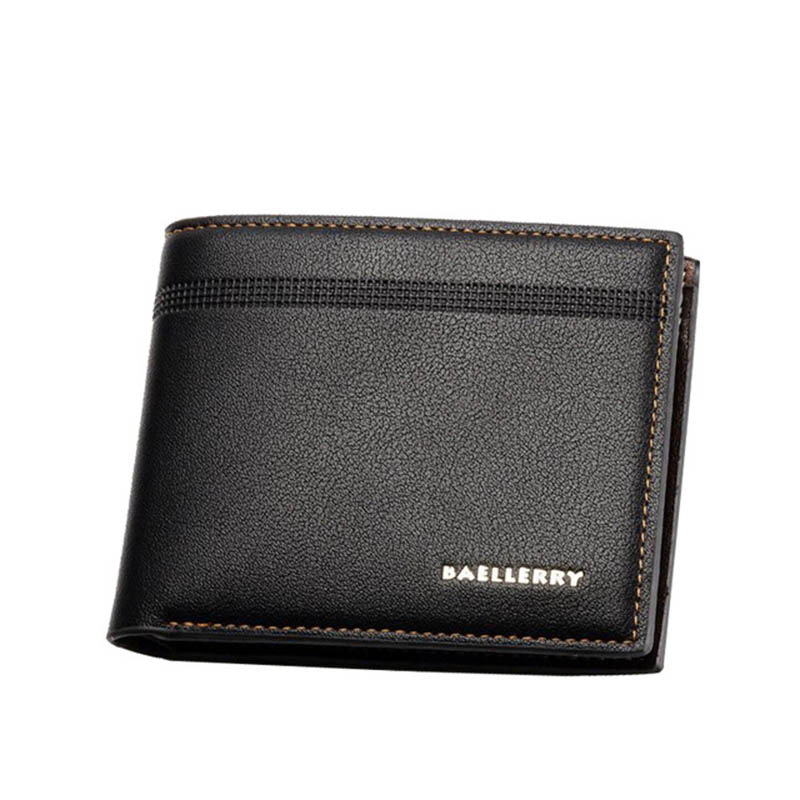 Leather Men Wallets Credit Card Holder Purse PU Card Men Money Bag Cash Gift Maschio Portafoglio Famous Brand Magic Purse W067 ...