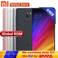 Original Xiaomi Mi5S Mi 5S Plus 4GB 64GB Cell Phone Mobile Phone Snapdragon 821 Quad Core 1920x1080 NFC Quick Charge