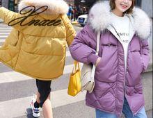 2019 winter cotton clothing new womens fashion slim thickened down