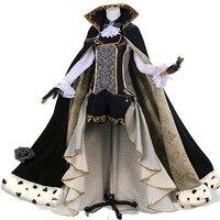 Hot Sale Cos Anime Kuroshitsuji Black Butler Ciel Phantomhive Party Dress Cosplay Costume Full Set Customized