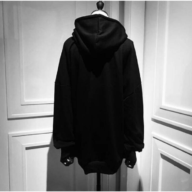 90ccc0ef Shoptagr | Women Punk Hoodies Long Sleeve Japanese Harajuku Moon ...