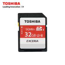 TOSHIBA Memory card 32gb class 10 sd card UHS-1 U3 90MB/S SDHC TF Card flash USB 3.0 memory SD Card 32gb Class 10 High Speed