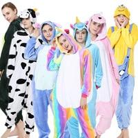 men women home clothes conjoined pyjamas unicorn licorne cartoon clothes panda cute unicorn Tigger one piece pajamas unicornio