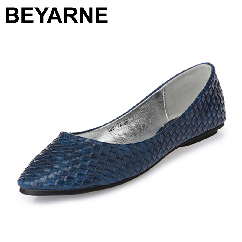 BEYARNE free shipping new arrival women single shoes flat heel moccasins soft bottom spring summer ballet flats women moccasin new arrival 2014 fashion spring and autumn flats for women flat heel shoes suede bowknot flats women shoes free shipping