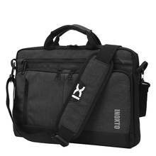 التاسع متعددة الوظائف الرجال حقائب 14 بوصة حقيبة يد للحاسوب المحمول الرجال الأعمال Crossbody حقيبة الفتيان دائم رسول حقائب كتف XA266ZC