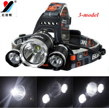 2017 best sell led bicycle lamp Camping head light Hiking portable torch 3T6 super bright aluminum housing mayerial via DHL