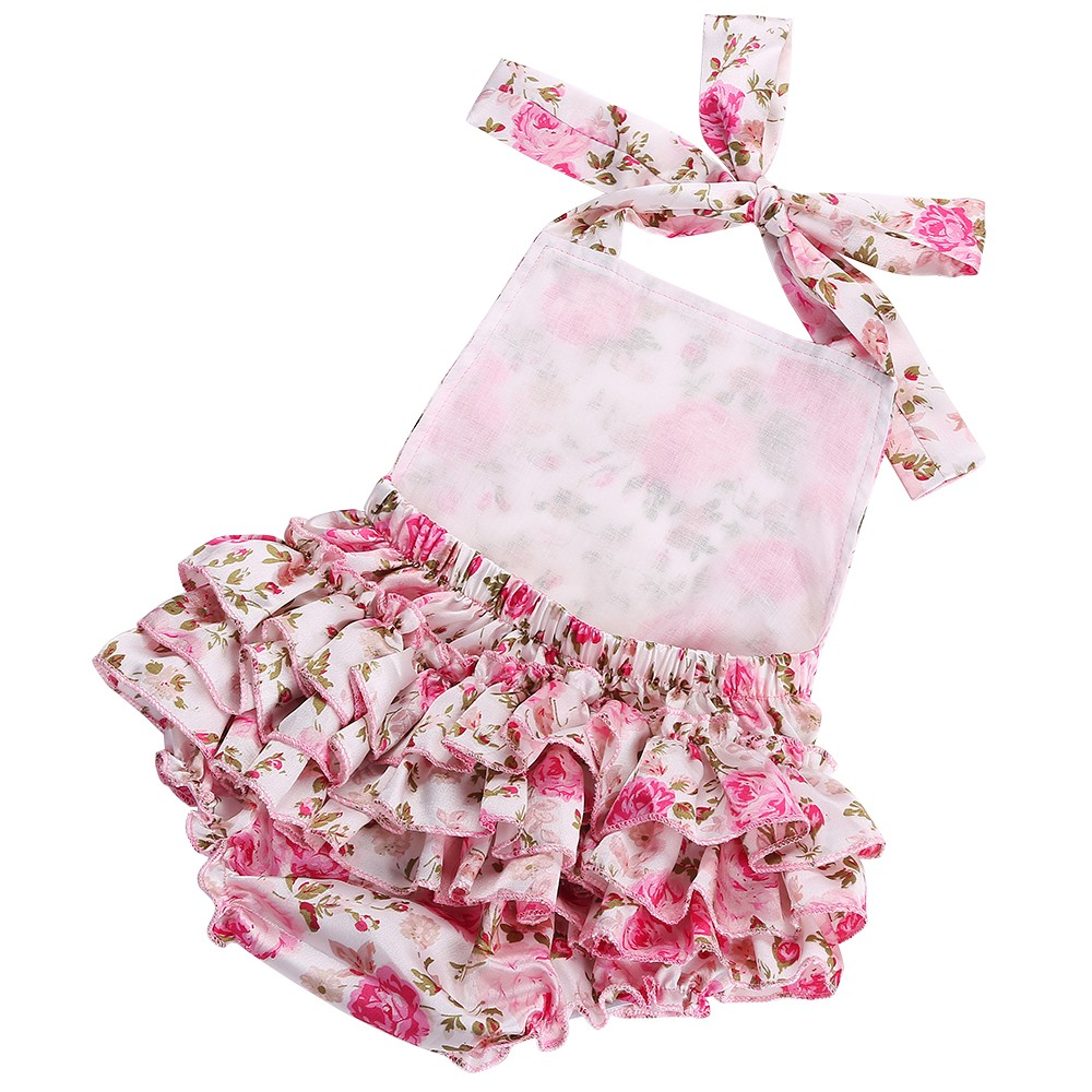 5350b789139e1 Floral Baby Girl Romper Newborn Baby Shoes Flower Headband 3pcs Set New  Born Baby Clothes Lace Romper Christmas Baby Costumes-in Rompers from  Mother   Kids ...