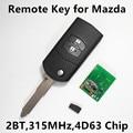 Дистанционного Ключа Автомобиля для MAZDA 2 М2 3 М3 5 M5 6 M6 Atenza Axela Premacy Demio Автозапуск 315 МГц Visteon Stytle