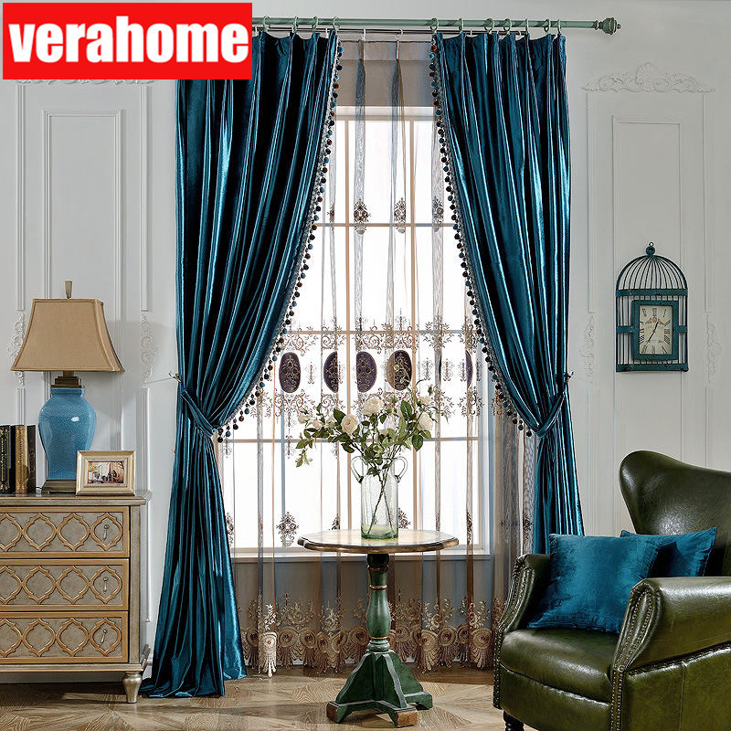 best blue bedroom curtain fabric ideas and get free shipping ...
