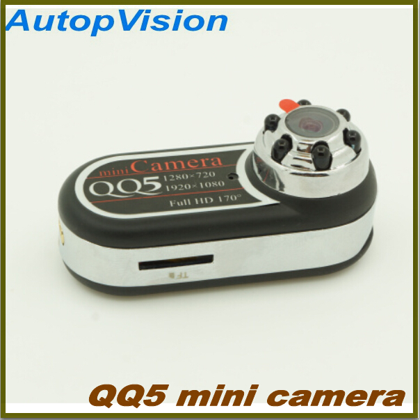 HOT QQ5 Mini Camera Full HD 1080P 720P Infrared Night Vision DV Camera Camcorder 12MP Cam Webcam 170 Wide Angle