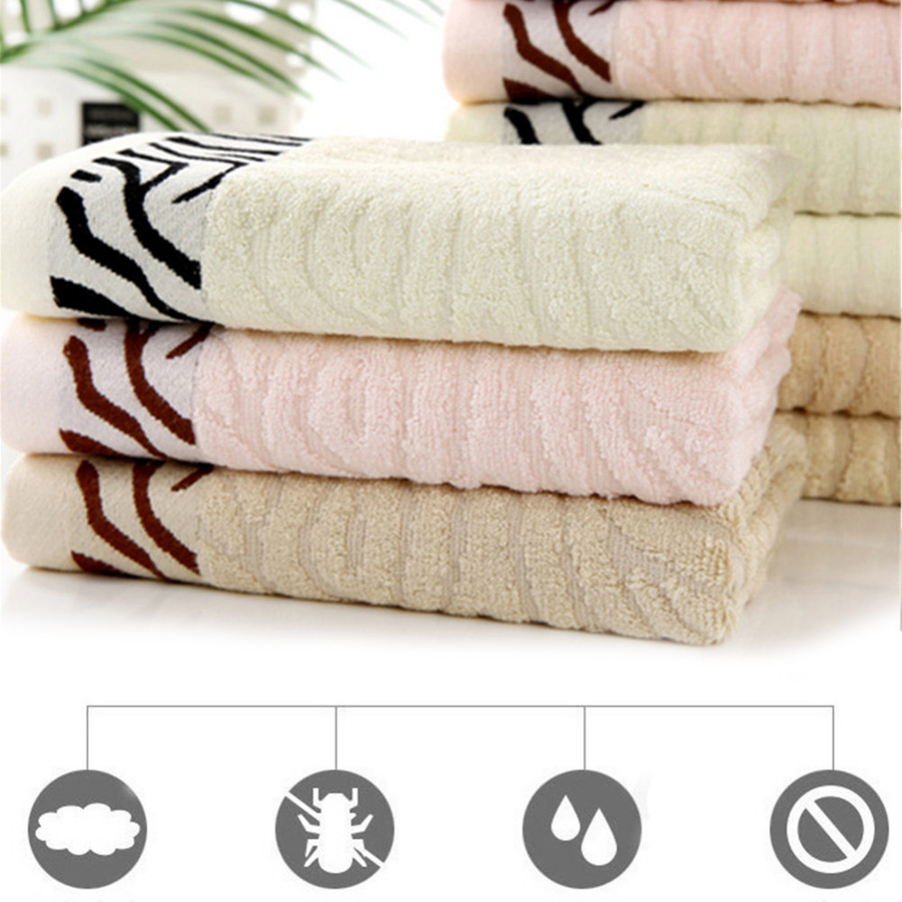 30x70cm Thick Luxury Cotton Bathing Towels Solid SPA Bathroom Beach Terry Family Bath Towels for Adults Hotel