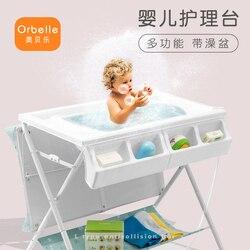 Multifunctionele baby veranderende tafel babyverzorging tafel massage tafel klaptafel kan vouwen