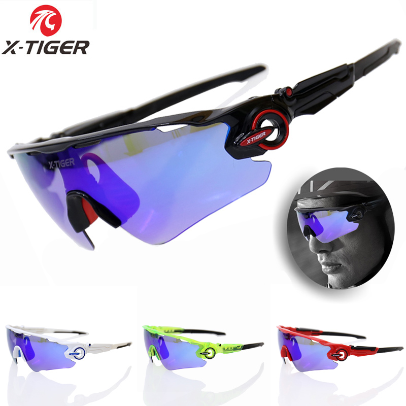 X-TIGER Brand Polarized Cycling SunGlasses Mountain Racing Bike Goggles MTB Bicycle Eyewear Ciclismo Cycling Glasses 2017 New  4 lens ski goggles airsoftsports cycling sunglasses polarized men sport road mtb mountain bike glasses eyewear