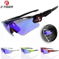 X TIGER Brand Polarized Cycling SunGlasses Mountain Racing Bike Goggles MTB Bicycle Eyewear Ciclismo Cycling Glasses