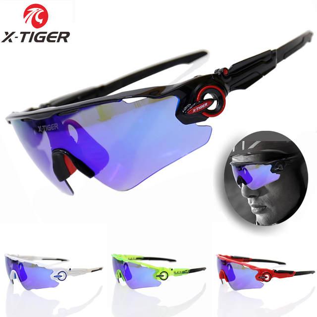 X-TIGER Polarizada Óculos de Ciclismo UV400 Ciclismo Esporte Óculos de Sol  Óculos de Mountain 844d99ea6f