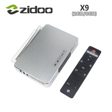 [Genuine] ZIDOO X9 Smart Android TV BOX MSTAR MSO9180D1R CPU 2GB/8GB 802.11n WIFI 7.1 Passthrough Bluetooth 4K H.265 USB3.0(China (Mainland))