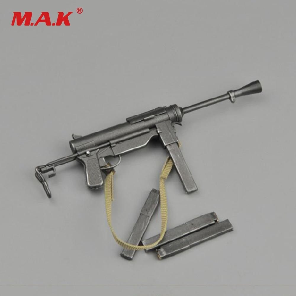 1/6 WWII US Thompson M3 Submachine Gun Model For 12