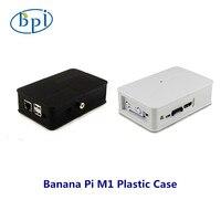 En kaliteli Muz Pi Plastik beyaz/siyah Kutu Muz Pi için M1 Kurulu sadece