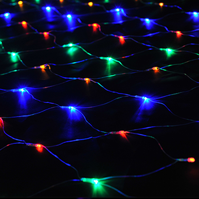 8w xmas led net light 96led x ac220v led for 160 net christmas decoration lights clear
