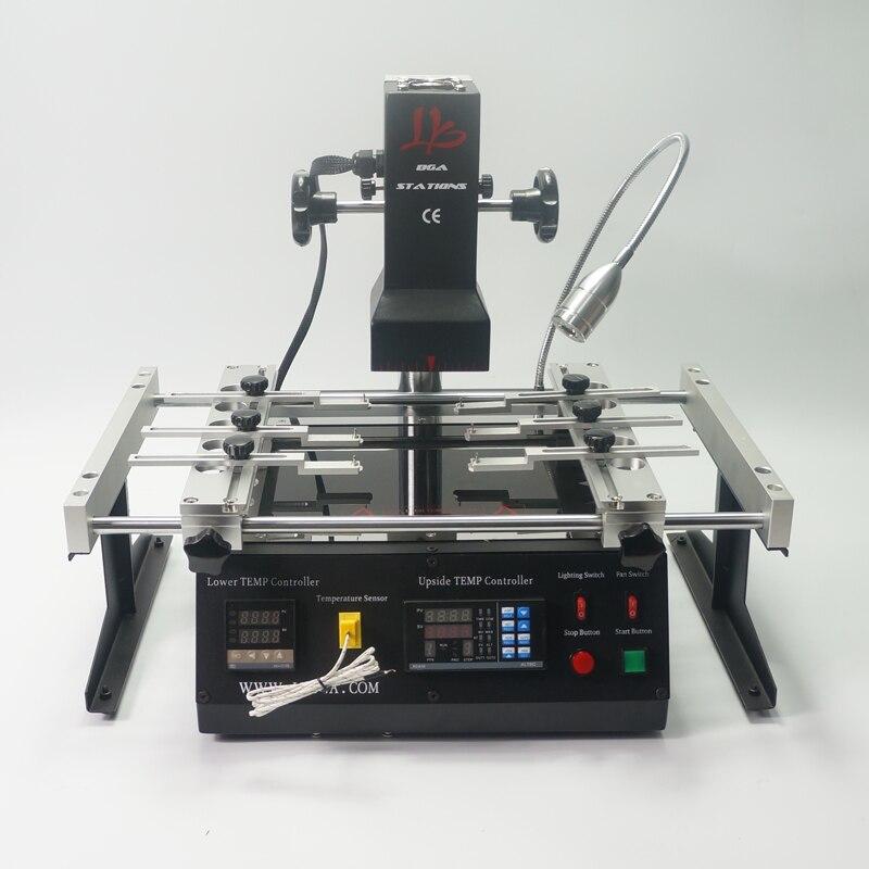 2019 NEW Infrared IR estação de retrabalho bga LY IR6500 V2 estação de solda bga máquina bga com bolas de solda de Solda Flux stencils bga