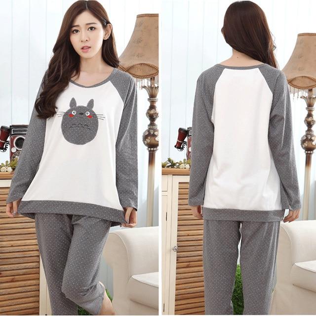 Totoro Sleepwear Pajamas
