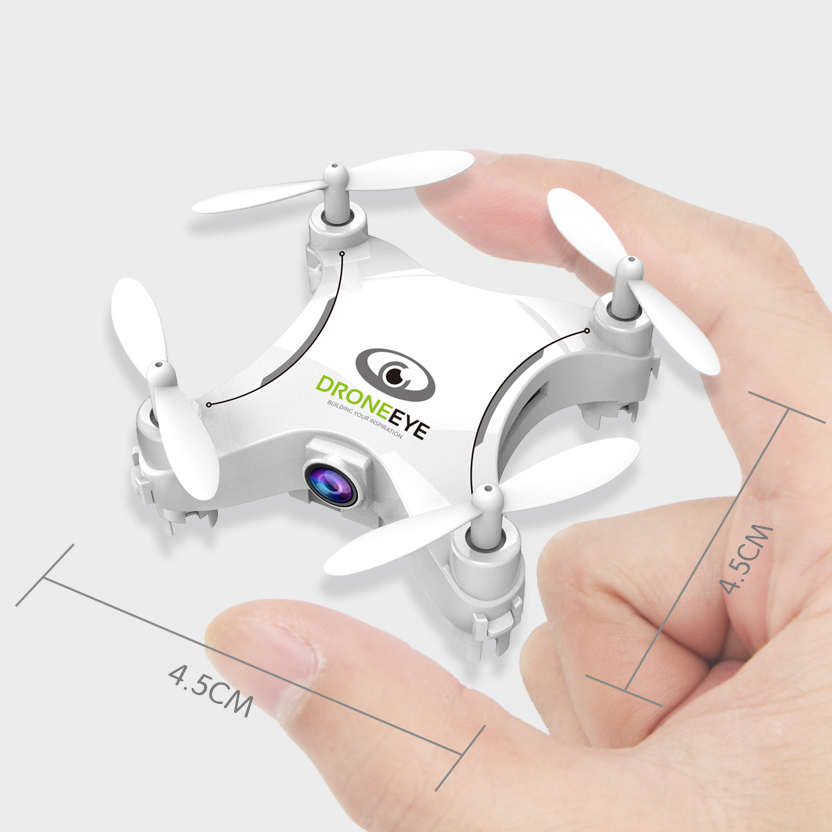XYCQ XY-1 Mini Drone Micro Pocket 4CH WiFi Camera Real Time Video 6Axis Gyro Switchable Controller RC Helicopter Kids Toys