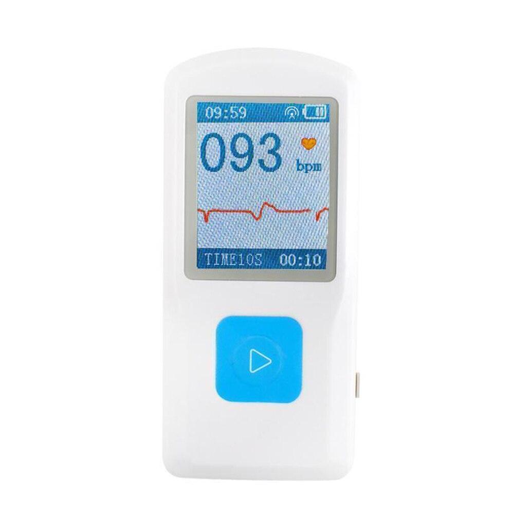 Домашний Уход Портативный ЭКГ машина цветной экран ЭКГ монитор ручной сердце машина BT USB ПК программное обеспечение CONTEC PM10
