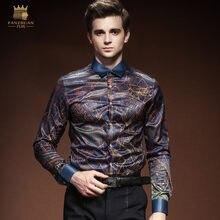 819b015c6f9 FANZHUAN Besondere Marken Kleidung Designer Flut Marke Männer der 2018  Herbst Neue Mode Pull Muster Drucken Europäischen Stil mä.