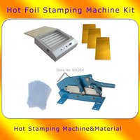 Hot Foil Stamping UV Exposure DIY Die Photopolymer Plate Cutter Letterpress