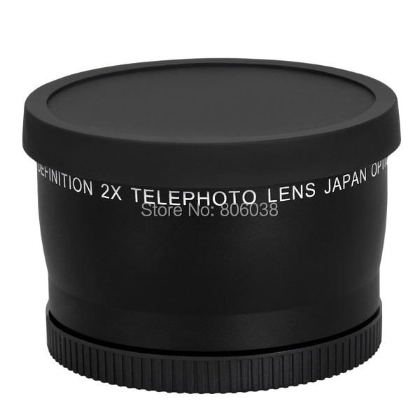 Lente telefoto profesionale 58mm 2.0X për lente Canon 5D / 6D / 60D - Kamera dhe foto - Foto 2