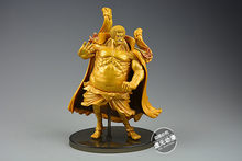 SC SCultures Comic Anime One Piece Admiral Marshal Golden Buddha Sengoku Colosseum Marine Figure Figurine Toys(China)