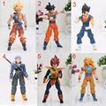13-17 cm SHFiguarts SHF figuarts Dragon Ball Z Goku Vegeta Trunks Goku Vegetto PVC Figura de Acción de recogida de Juguetes