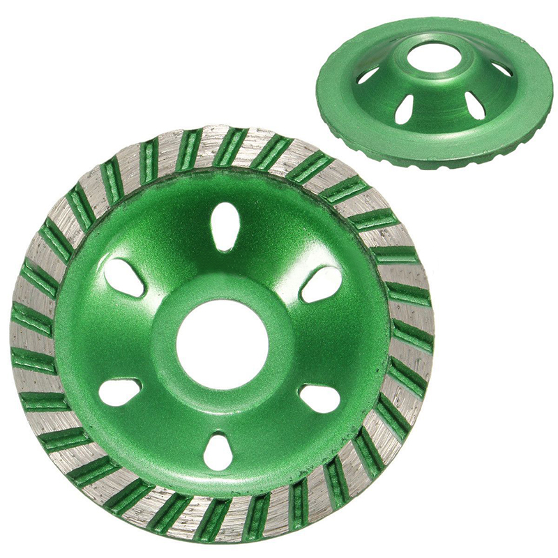 New 100mm Diamond Grinding Cup Wheel Cutting Disc Concrete Masonry Stone Tool Power Tools Accessories