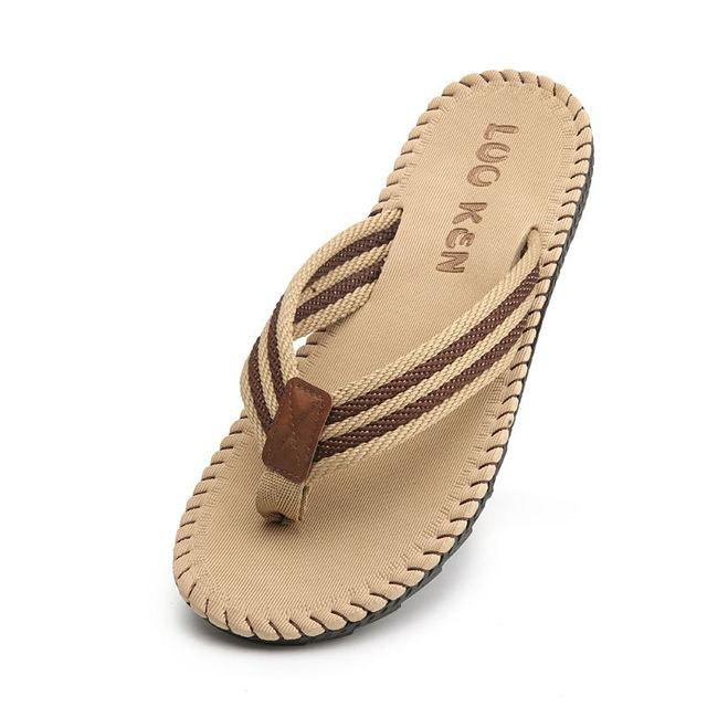 LAISUMK 4 ألوان صنادل شاطئ حذاء رجالي شبشب صيفي الوجه يتخبط الرجال الصنادل حجم كبير 45 Sandalias Hombre Chausson أوم 6