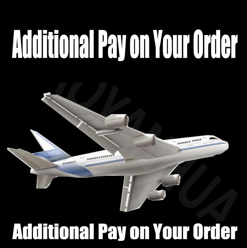 Additional Pay on Your Order $30
