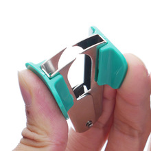 1Pcs Stationery Supplies Mini Portable Standard Metal Staple Remover Office And School Office Binding Supplies Papelaria