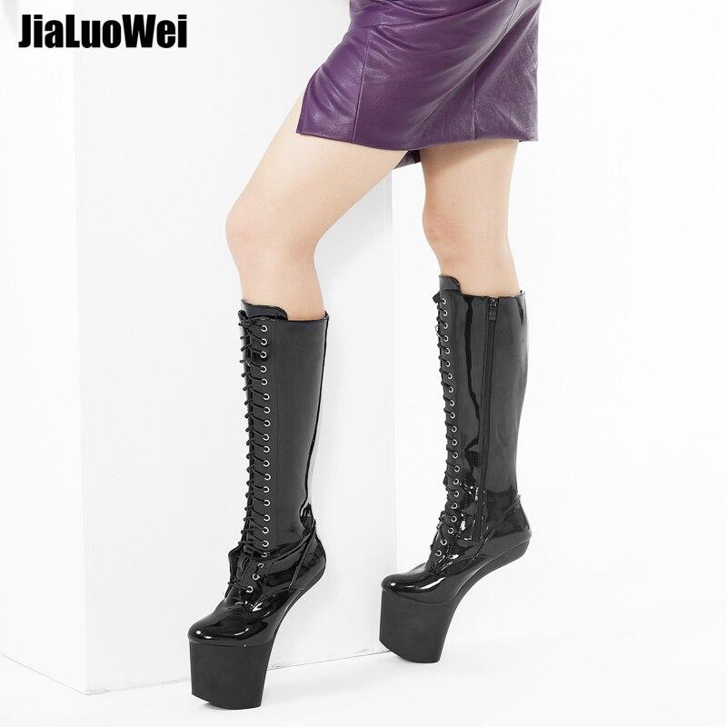 jialuowei 8 ίντσες Υψηλή φτέρνα - Γυναικεία παπούτσια - Φωτογραφία 2