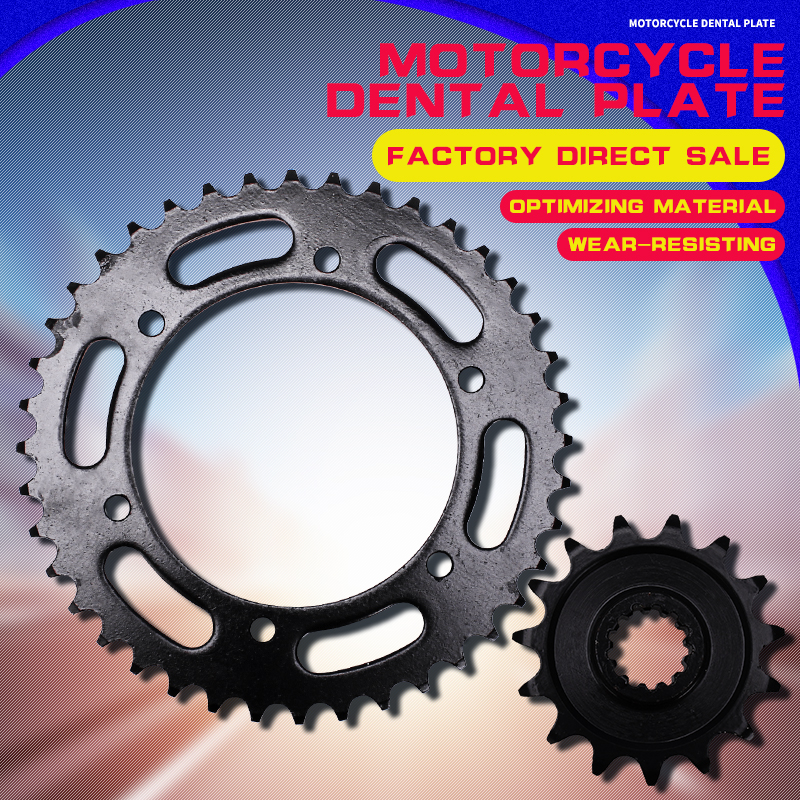 A Set Motorcycle Accessories Front and Rear Sprocket Chain For HONDA VFR400 RVF400 NC30 MC30 VFR RVF