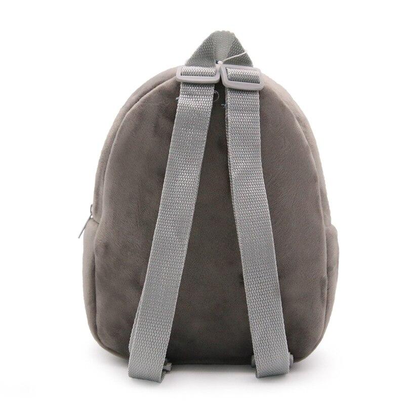 beaa48cd2b DUDINI Creative Lovely Totoro Children s Backpacks Kindergarten Plush  School Bags Children Backpack Cute Animal Book Bags-in Backpacks from  Luggage   Bags ...