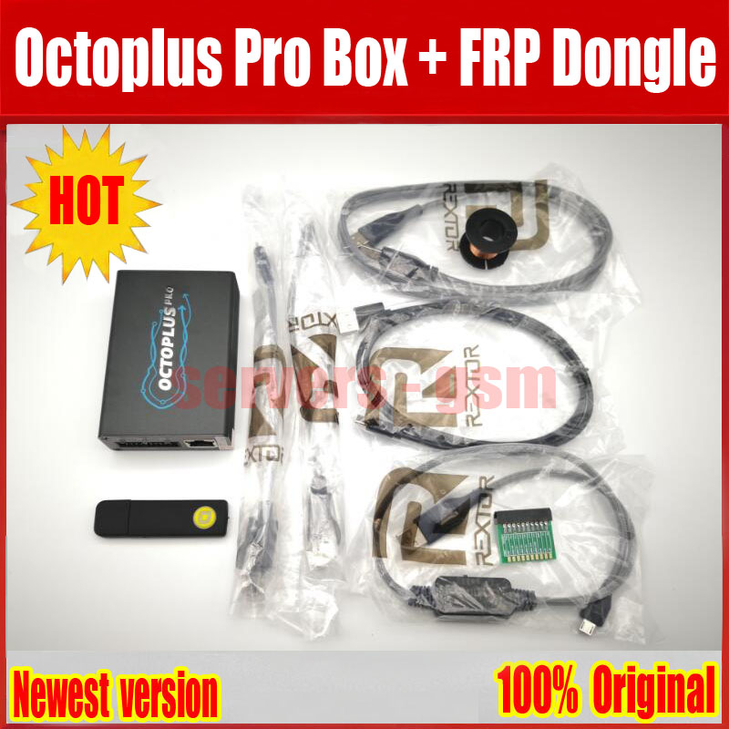 Octoplus Pro Box Cable Adapter Set Activated for Samsung LG eMMC JTAG Unlimited Sony Ericsson Octoplus