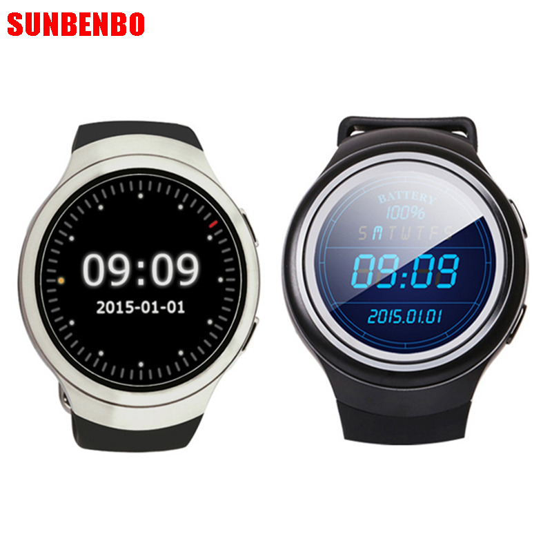 SUNBENBO Finow X3 K9 Smart Watch 3G Dual Core Bluetooth Android 4.4 Pedometer Heart Rate Monitor WCDMA SIM Card Smartwatch relogio masculino tevise luxury brand watch men tourbillon automatic mechanical watches moon phase skeleton wrist watch clock