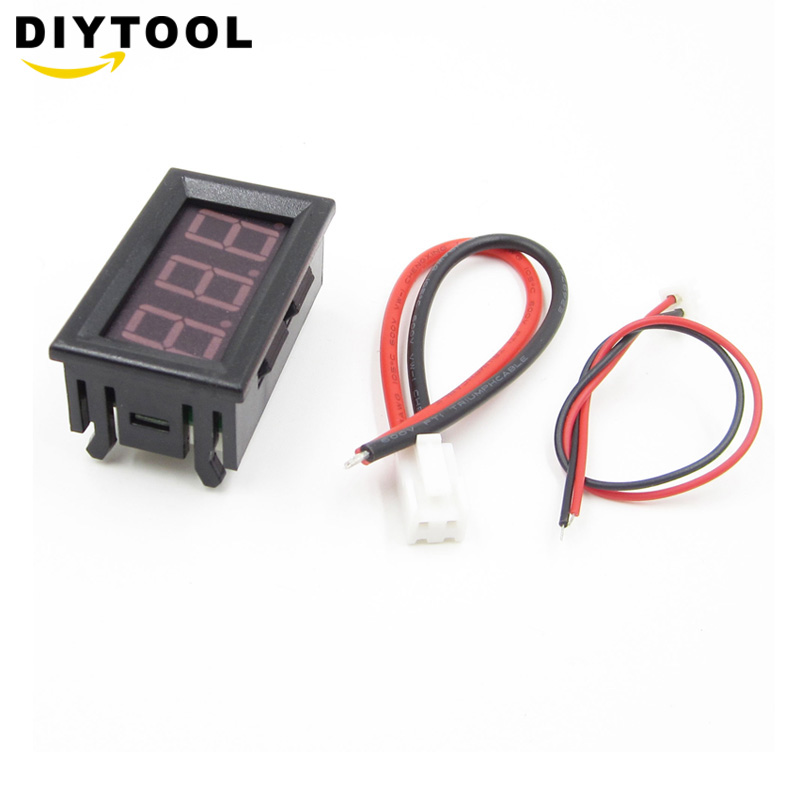 DC0-10A Ampere LED Amp Panel Meter 3Bit Display No Need Shunt Digital Ammeter