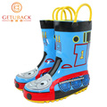 2016 New Kids Thomas Rainboots Fashion Children Cartoon Antiskid Wellies Girls & Boys Waterproof Shoes 3-16 Years, HJ052