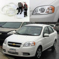 Para Chevrolet Aveo sedan T250 2006 2007 2008 2009 Excelente Ultrabright CCFL Angel Eyes iluminação Angel Eyes o Halo Anel